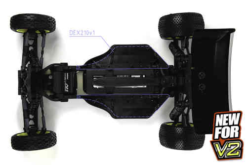 TEAM DURANGO DEX210V2 1/10 BUGGY 2WD KIT