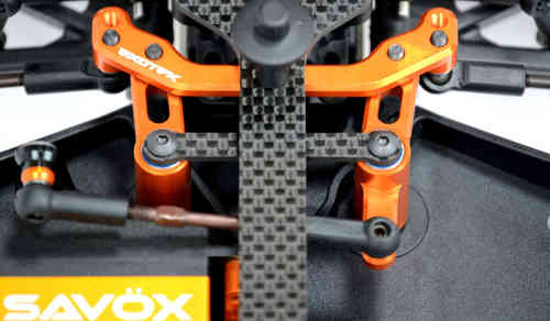 XB4 STEERING CRANK SET(orange)