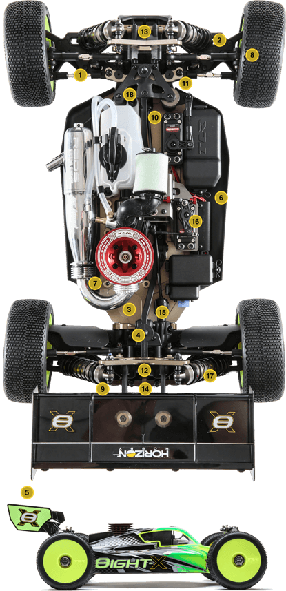 TLR04007-chassis